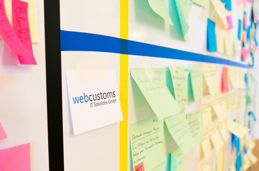 webcustoms büro innen